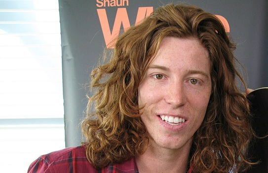 Image of Olympian Shaun White