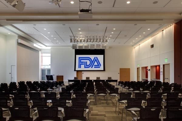 FDA meeting room; image courtesy www.fda.gov.