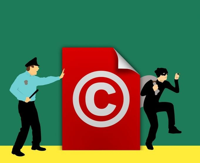 Image of a Copyright Graphic