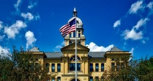 Image of a Courthouse in Iowa