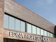 Image of the Edina High School Entrance
