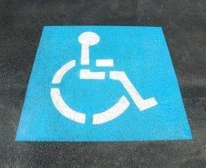 Image of a Handicap Sign