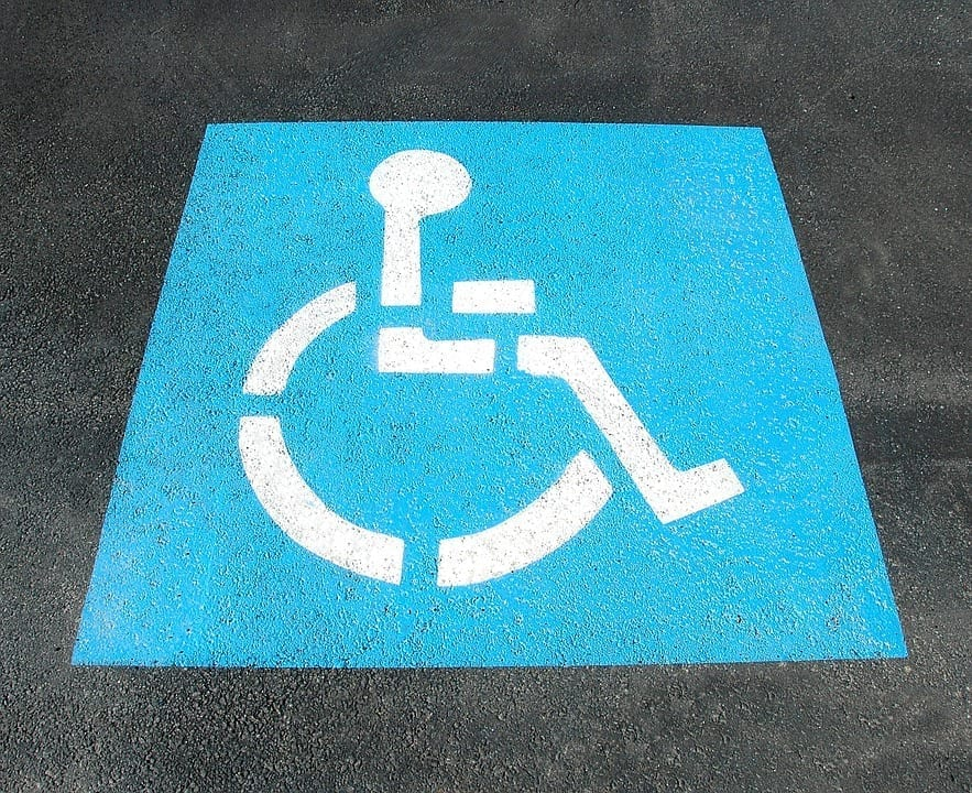 Image of a Handicap Sign