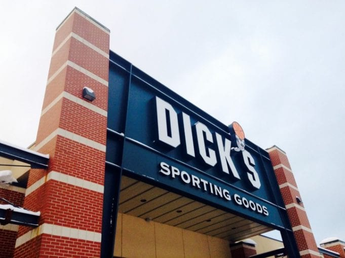 Dick's Sporting Goods; image by Mike Mozart, via Flickr, CC BY 2.0, no changes.