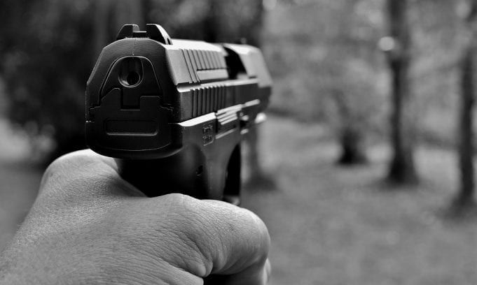 Image of a pistol