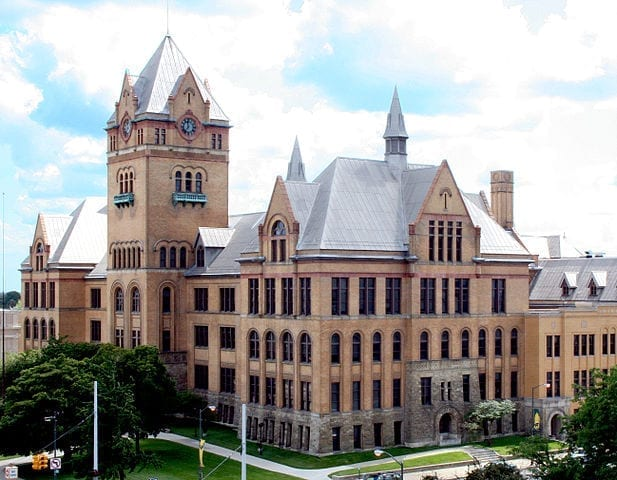 Image of Wayne State University's Old Main