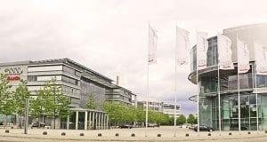 Image of the Audi Headquarters