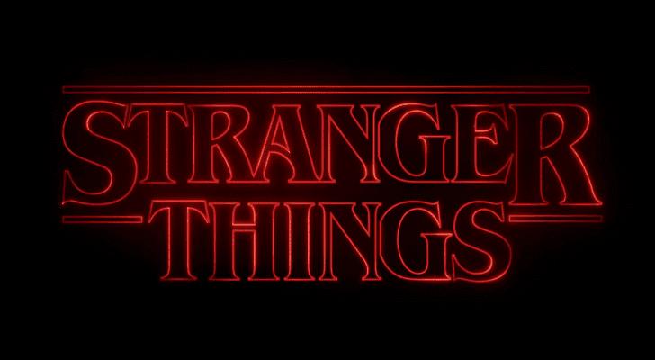Image of the Stranger Things Logo