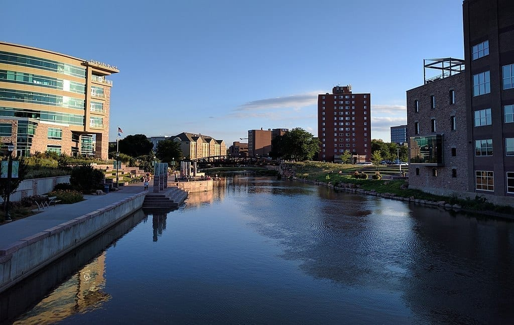 Image of Downtown Sioux Falls