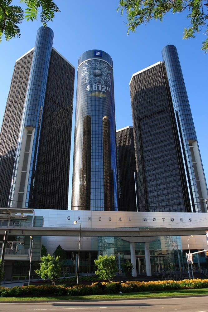 Image of the GM World Headquarters