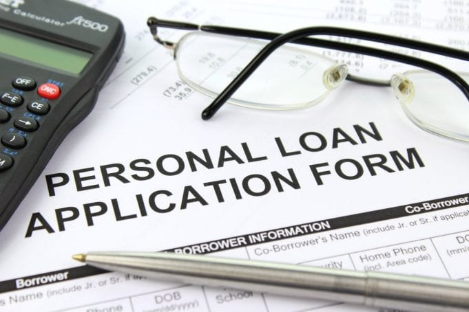 Personal loan application; image via picserver.org, CC BY-SA 3.0, no changes.