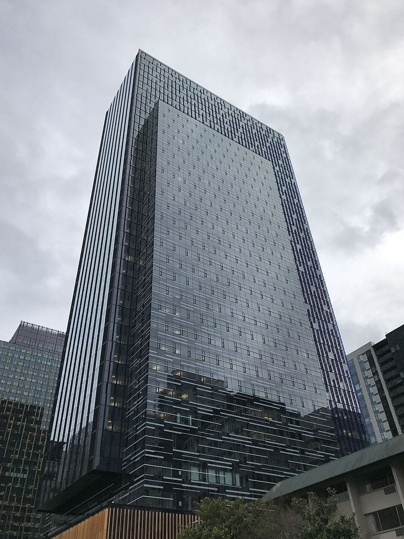 Image of the Amazon tower in Seattle, WA