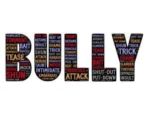 Image of a bullying graphic