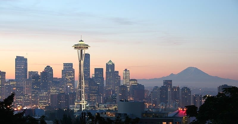 Image of the city of Seattle, WA