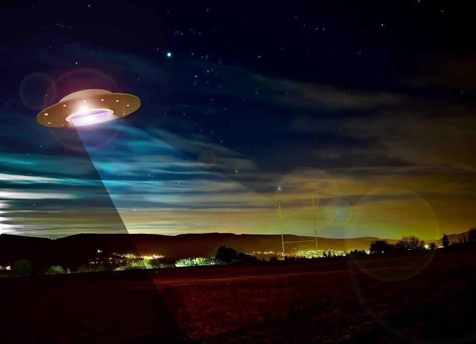 Image of a flying saucer