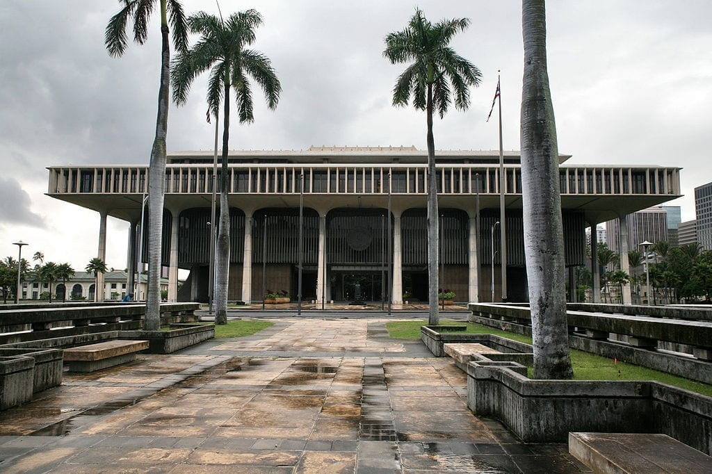 Image of the Hawaii State Capitol