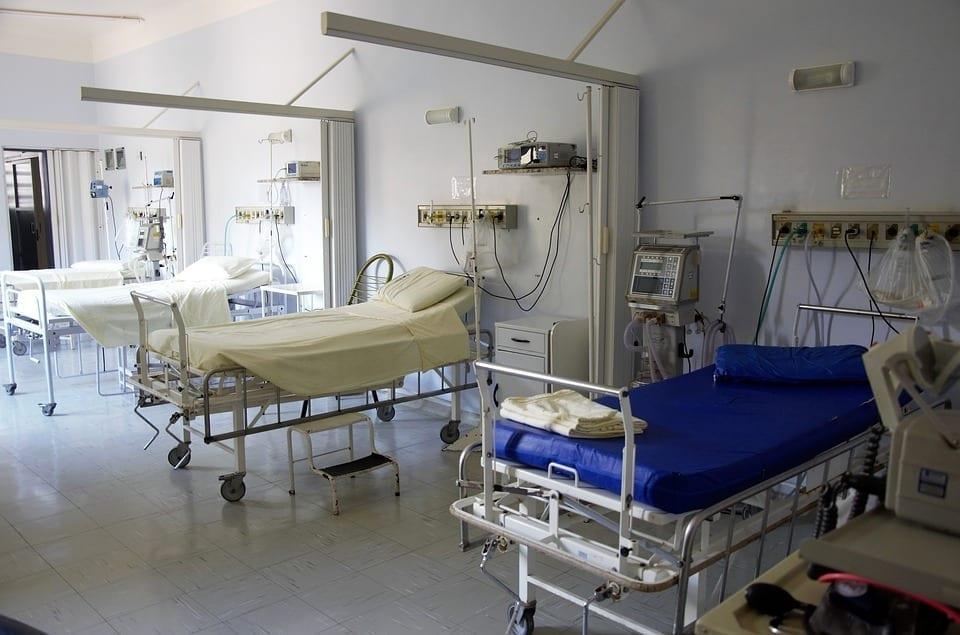 Image of hospital beds
