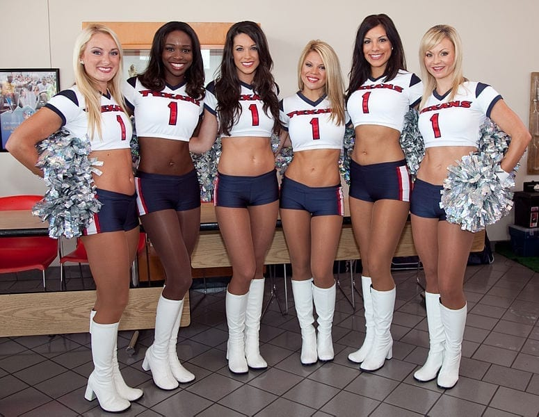Image of Texans Cheerleaders