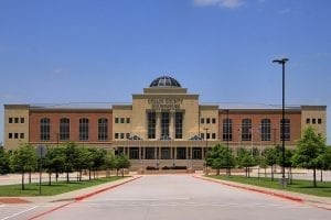 Image of the Collin County Courthouse in McKinney, Texas