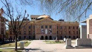 Image of the original Arizona State Capitol, Phoenix