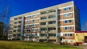 Image of an apartment building