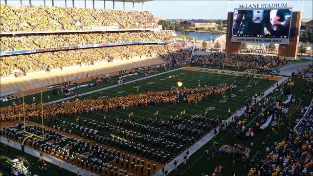 Image of the Baylor Football Field