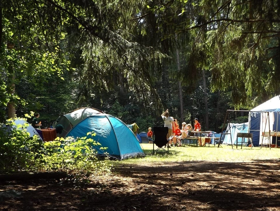 Image of a campground