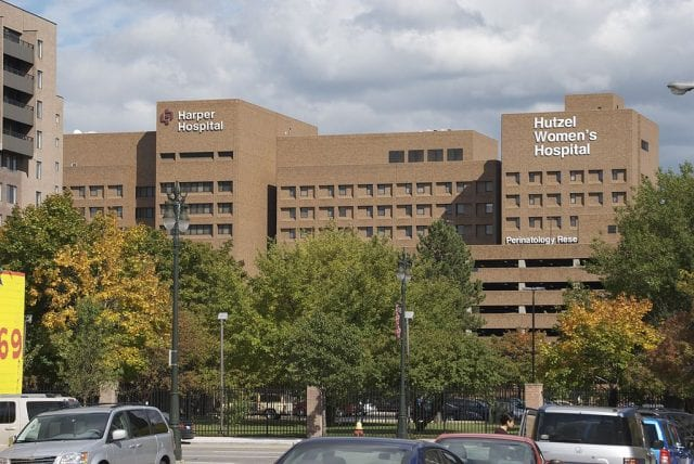 Image of the Detroit Medical Hospital
