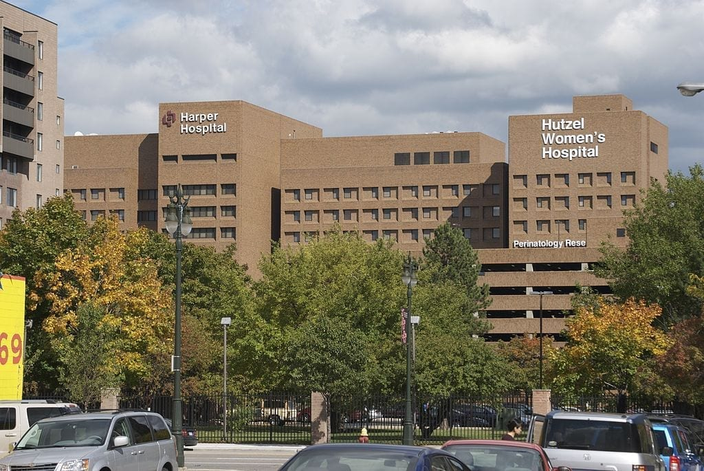 Image of the Detroit Medical Hospital