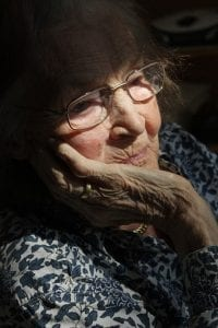 Image of an elderly woman