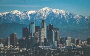 Image of the Los Angeles Skyline