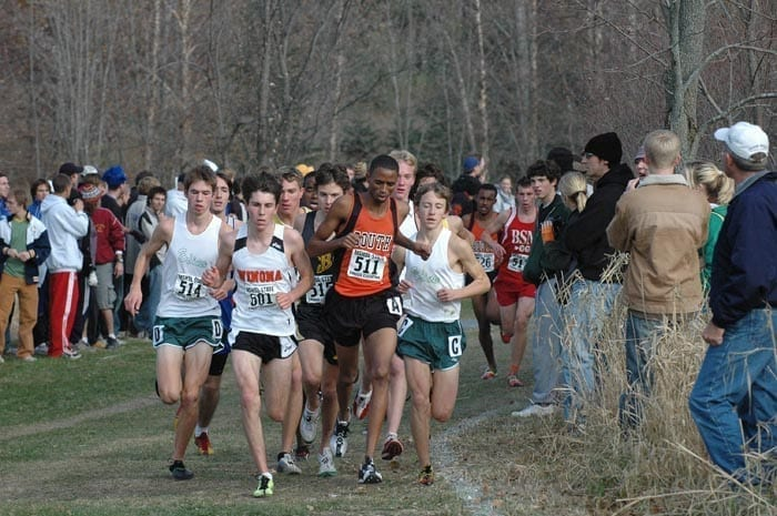 Image of a Men's Cross Country Competition