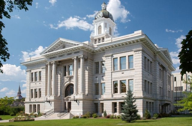 Image of the Missoula County Courthouse