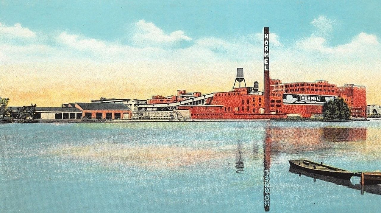 Image of the old Hormel production facility
