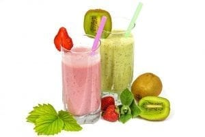 Image of two smoothies