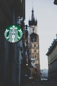 Image of a Starbucks Sign