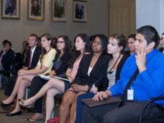 Group of interns; image by U.S. Dept. of Education, via Flickr, CC BY 2.0, no changes.