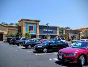 Image of an Aldi store in Simi Valley, California