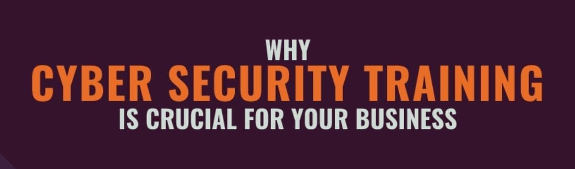 Why Cybersecurity Training is Crucial for Your Business; image provided by author.