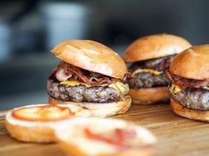 Image of hamburgers