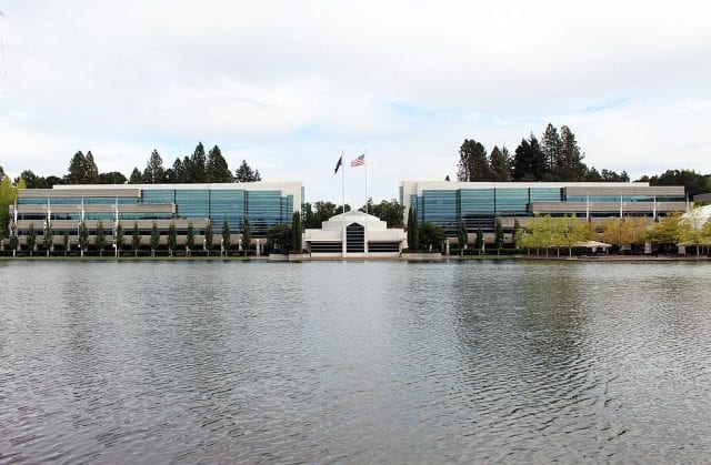Image of the Nike World Headquarters in Beaverton, Oregon