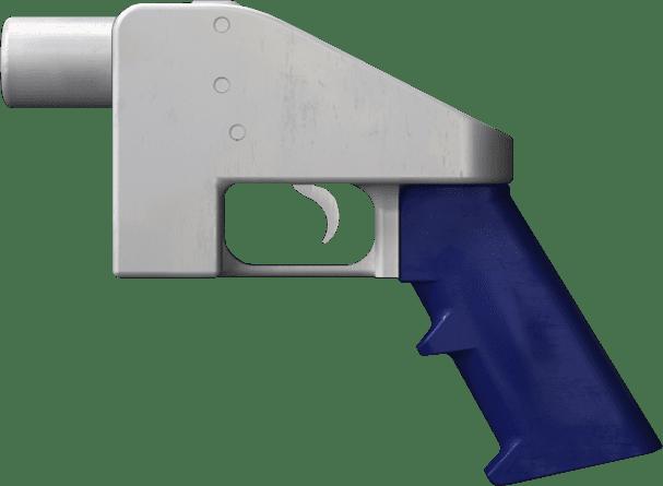 Image of the Liberator, a 3D-printed gun