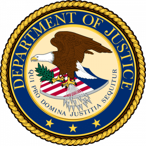 U.S. Department of Justice Seal