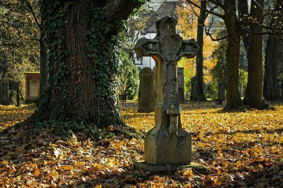 Image of a cemetery