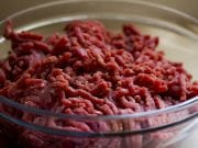 Image of Ground Beef in a Bowl