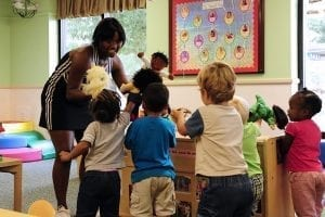 Image of Children at a Daycare