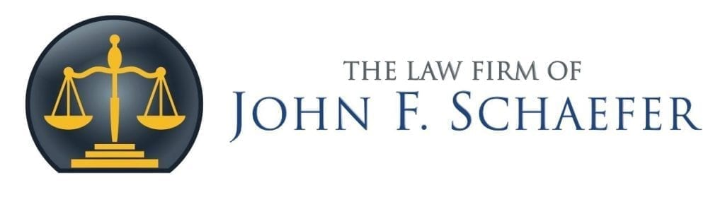 Logo; image courtesy of the Law Firm of John F. Schaefer.