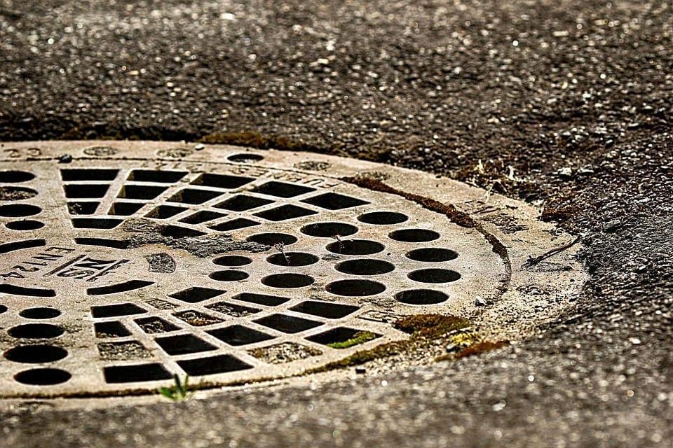 Image of a manhole cover
