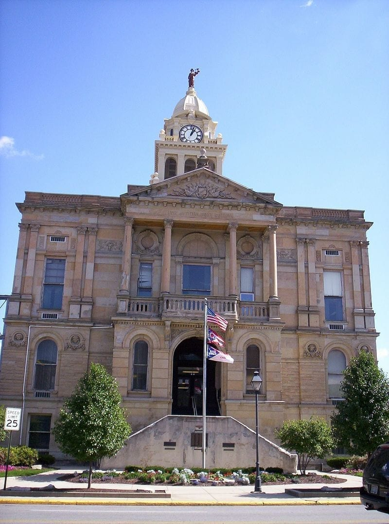 Image of Marion County, Ohio Courthouse