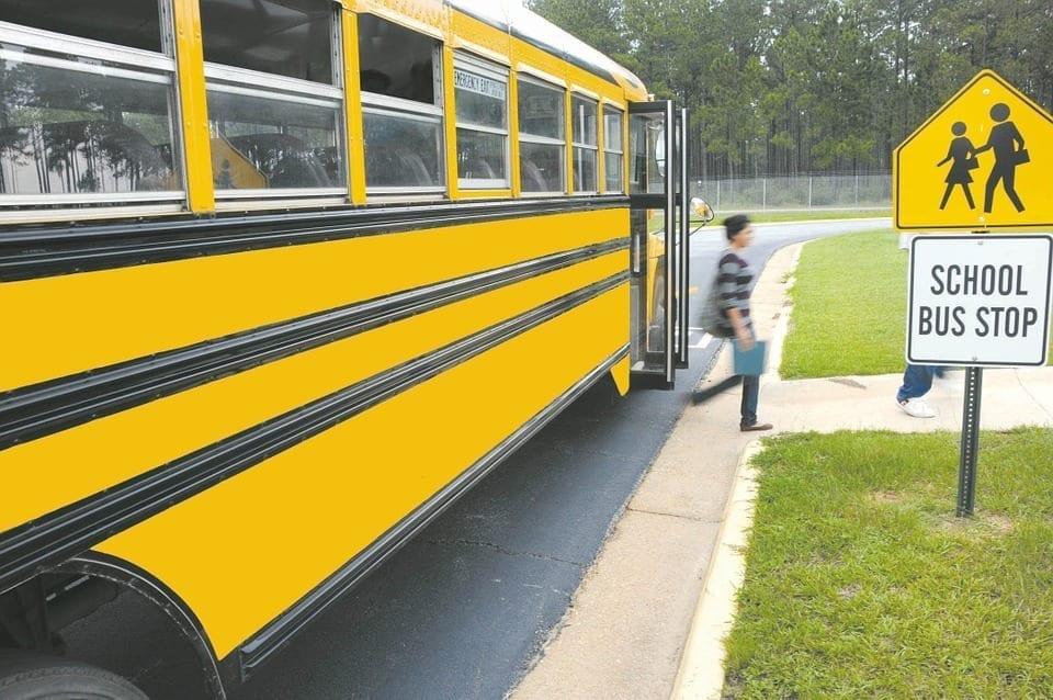 Image of a School Bus Stop